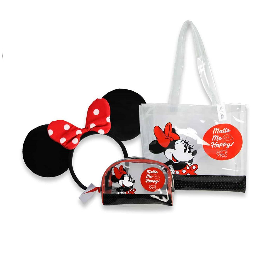 Minnie Mouse X LAKME