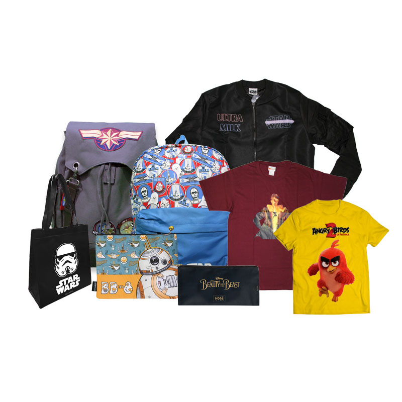 Bags and Apparel